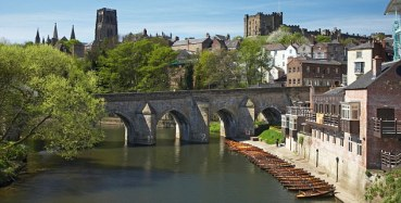 ACM5GC Elvet Bridge and Durham City England