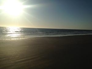 """The """"shit"""" Carnarvon beach"""